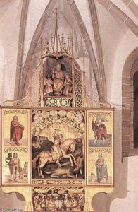 Master Paul Of Lõcse - altar mayor todaclasede De St Jorge