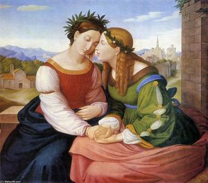 Johann Friedrich Overbeck - Italia y Germania