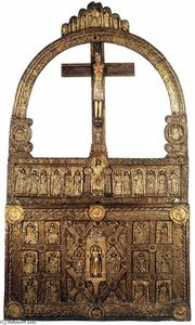 Danish Unknown Goldsmith - El Altar de Oro de Lisbjerg