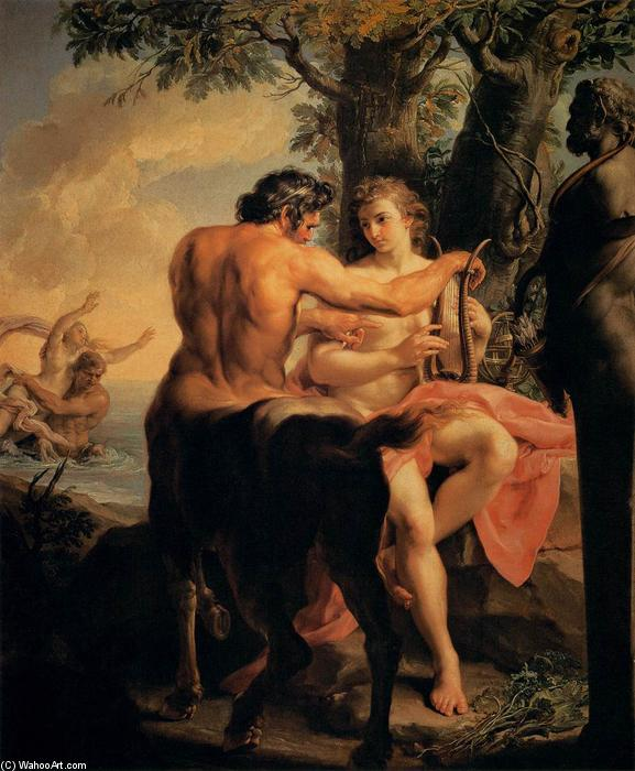 QUIRÓN, EL CENTAURO Pompeo-Batoni-Achilles-and-the-Centaur-Chiron-2-