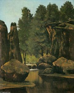 Gustave Courbet - Paisaje