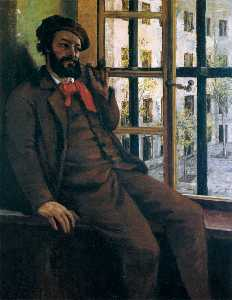 Gustave Courbet - Self-Portrait a Sainte-Pélagie