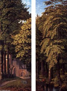 Gerard David - bosque escenas
