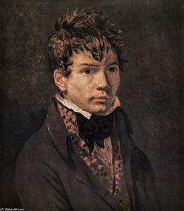 Jacques Louis David - Retrato de Ingres