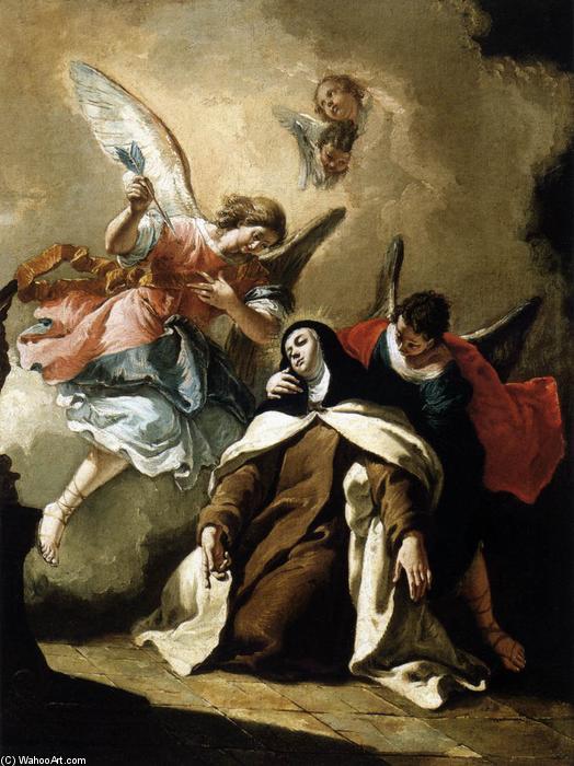 El   233 xtasis de Santa Teresa quot     243 leo sobre lienzo de Francesco    Bernini St Teresa Painting