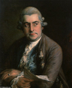 Thomas Gainsborough - Johann Christian Bach