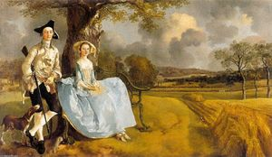 Thomas Gainsborough - Señor y Señorita Andrews