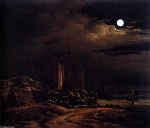 Egbert Van Der Poel - Costa de Moonlight