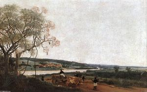 Frans Post - El Carro de Bueyes