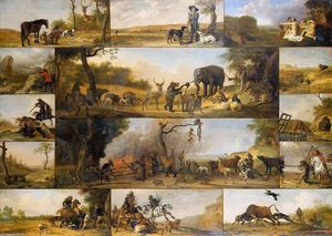 Paulus Potter - null of un Hunter