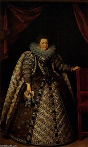Frans The Younger Pourbus - Isabel de Francia