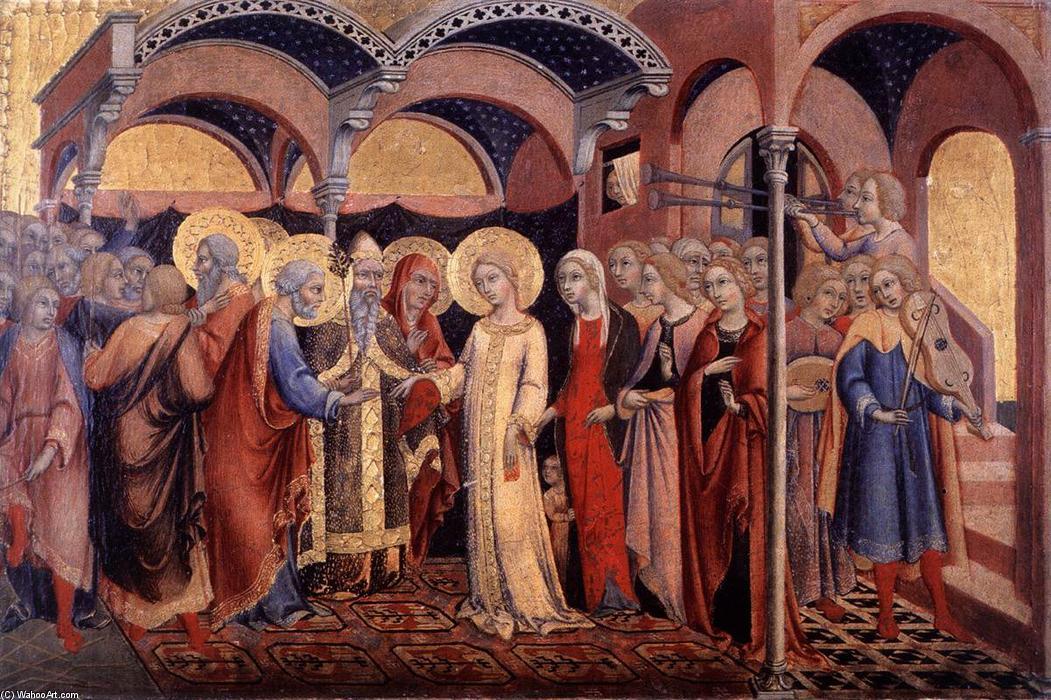 Virgen Matrimonio Biblia : El matrimonio de la virgen temperas sano di pietro