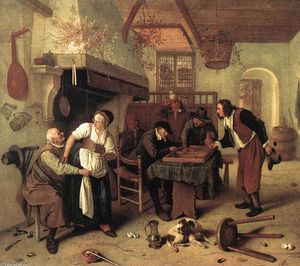 Jan Steen - En la taberna