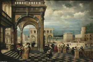 Hendrick Van The Younger Steenwyck - italiana palacio