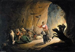 David The Younger Teniers - Dulle Griet (megohmio enojado)