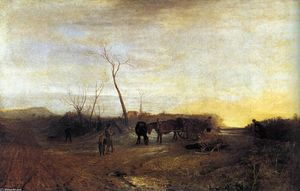 William Turner - Mañana escarchada