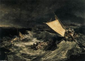 William Turner - El naufragio