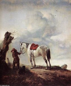 Philips Wouwerman - El gris