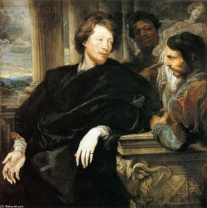 Anthony Van Dyck - George Gage con dos Hombres