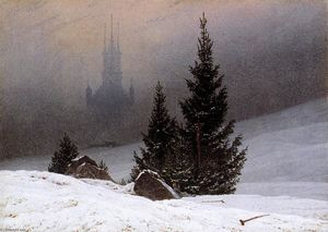 Caspar David Friedrich - invierno landscape