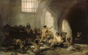 Francisco De Goya - El Madhouse