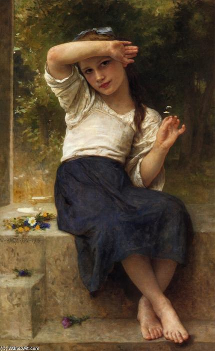 Margarita, óleo sobre lienzo de William Adolphe Bouguereau (1825-1905, France)