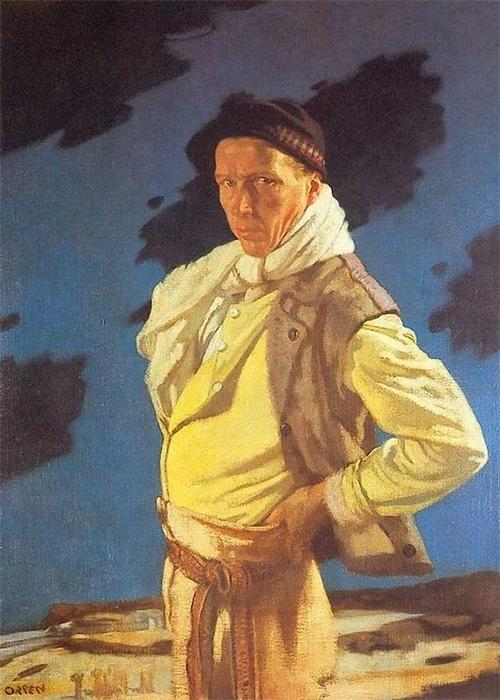 Pedir Copia De La Pintura : El hombre de Aran, 1909 de William Newenham Montague Orpen (1878-1931, Ireland) | WahooArt.com