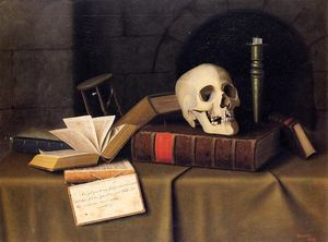 William Michael Harnett - Momento Mori, a este favor