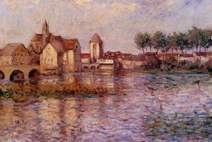Alfred Sisley - Mas t -sur-loing