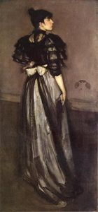 James Abbott Mcneill Whistler - Madre of Pearl y la plata : el andalsiian