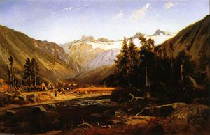 William Keith - monte lyell , sierra de california