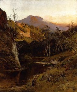William Keith - Monte Tamalpias de Lagunitas Creek