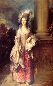 Pedir Reproducciones De Arte | La señora Graham, 1777 de Thomas Gainsborough (1727-1788, United Kingdom) | WahooArt.com