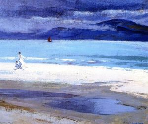 Francis Campbell Boileau Cadell - El North End, Iona
