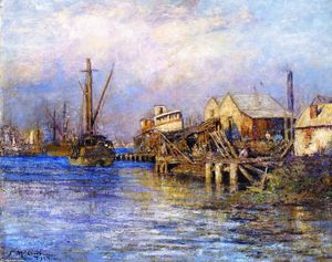 Frederick Mccubbin - The Slip Vieja, Williamstown