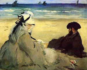 Edouard Manet - en playa