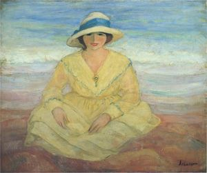 Henri Lebasque - en la playa