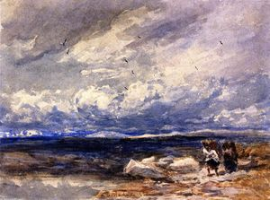 David Cox - En Carrington Moss, Cheshire