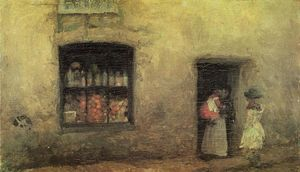 James Abbott Mcneill Whistler - Una nota de Orange: Sweet Shop