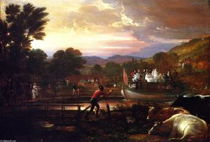 Benjamin West - canal de paddington