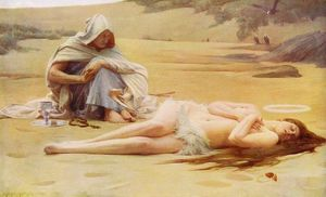 Arthur Hacker - Pelagia y Filemon