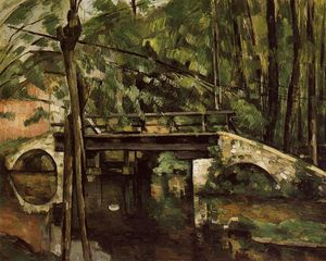 Paul Cezanne - El Pont de Maincy