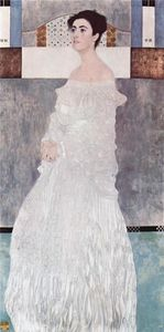 Gustav Klimt - Retrato de Margaret Stonborough-Wittgenstein