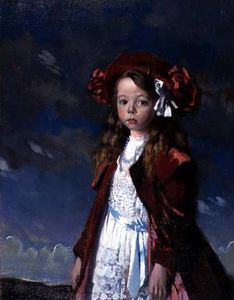 William Newenham Montague Orpen - Retrato de la señorita Harmsworth