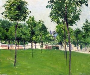 Gustave Caillebotte - Paseo marítimo en argenteuil