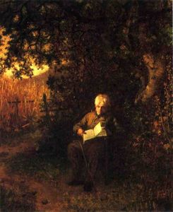 Jonathan Eastman Johnson - a tranquila horas