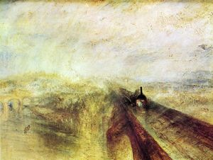 William Turner - Carril , Vapor and Velocidad - el gran occidental ferrocarril