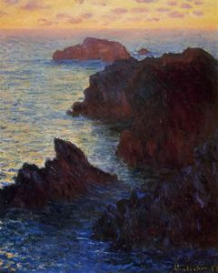 Claude Monet - Rocky Point a Port-Goulphar