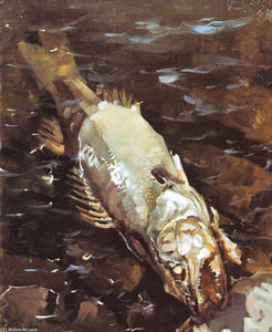 Akseli Gallen Kallela - Fish Rotting