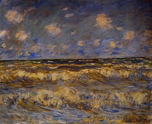 Claude Monet - áspera mar